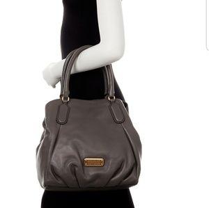 Marc Jacobs Fran Q Leather Satchel Handbag